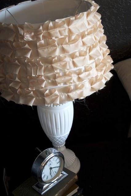 Shabby Chic Ruffle Lamp