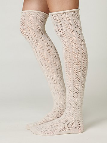 Free People Roll-top Knee Socks
