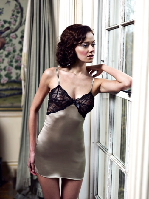 Lucile Lingeire Duchess of Warwick Silk Chemise
