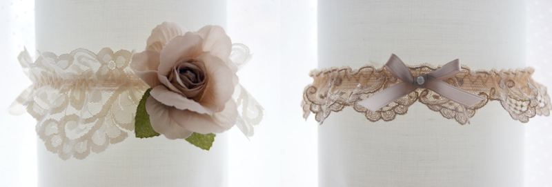 Amuse-Bouche Wedding Garters